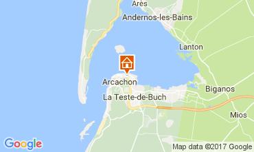 Carte Arcachon Appartement 109172