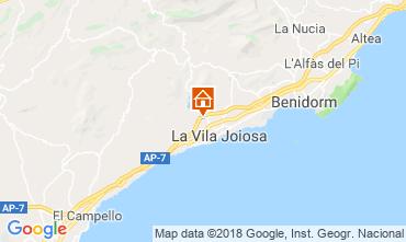 Carte Benidorm Villa 97736