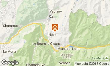 Carte Alpe d'Huez Studio 38943