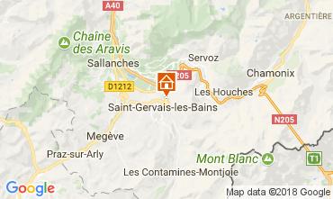 Carte Saint-Gervais-les-Bains Appartement 90138
