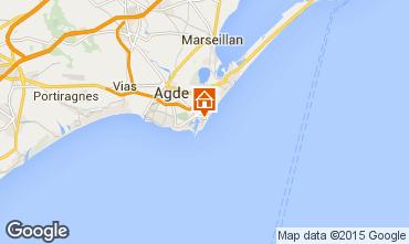 Carte Cap d'Agde Appartement 68288