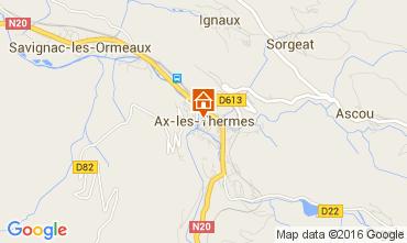 Carte Ax Les Thermes Appartement 68456