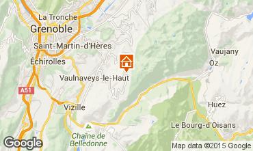 Carte Chamrousse Appartement 30013