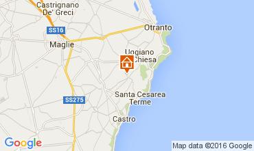 Carte Santa Cesarea Terme Appartement 104130