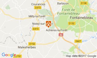 Carte Fontainebleau Maison 62235