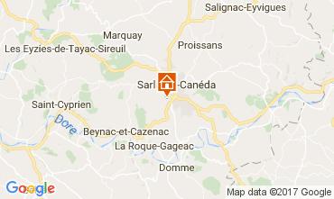 Carte Sarlat Gite 108143