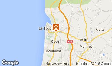 Carte Le Touquet Gite 7765
