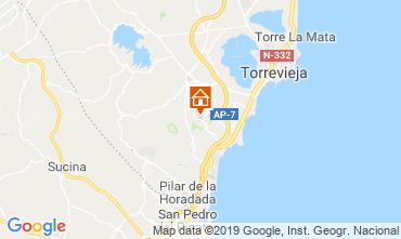 Carte Torrevieja Maison 104261