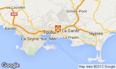 Carte Toulon Maison 89067