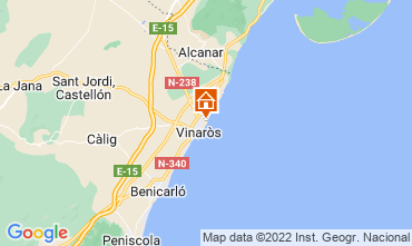 Carte Vinaroz Villa 11345