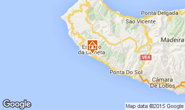 Carte Calheta Appartement 61591