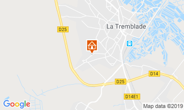 Carte La Tremblade Mobil-home 119771