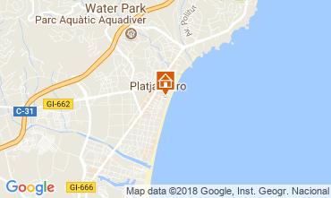 Carte Playa d'Aro Appartement 113494