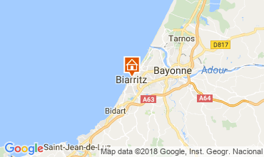 Carte Biarritz Studio 112149