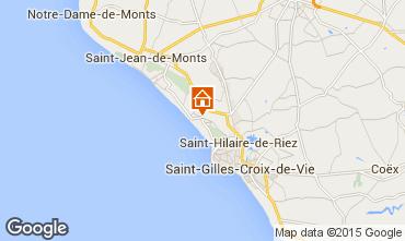 Carte Saint Hilaire de Riez Maison 78429