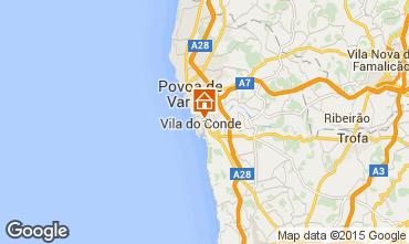 Carte Vila do Conde Appartement 75568