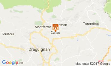 Carte Draguignan Villa 109623