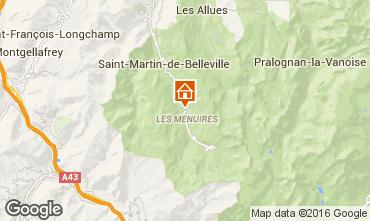 Carte Les Menuires Chalet 102203