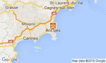 Carte Antibes Studio 105768