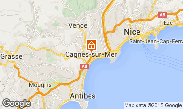 Carte Nice Appartement 69976