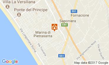 Carte Marina di Pietrasanta Villa 110926