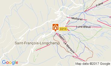 Carte Saint François Longchamp Appartement 112015