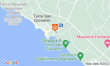 Carte Ugento - Torre San Giovanni Appartement 118742