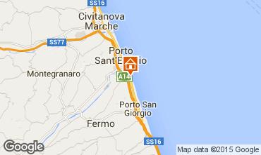 Carte Porto San Giorgio Bungalow 85039