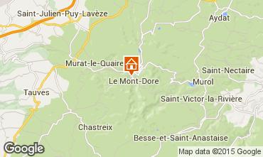 Carte Le Mont Dore Appartement 48443