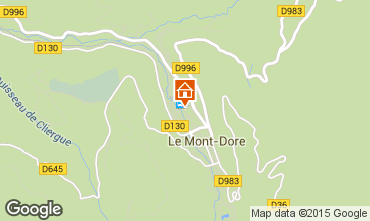 Carte Le Mont Dore Appartement 48443
