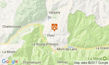 Carte Alpe d'Huez Studio 82866