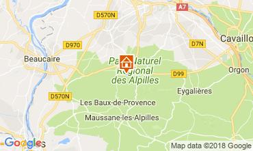 Carte Saint Rémy de Provence Villa 113738