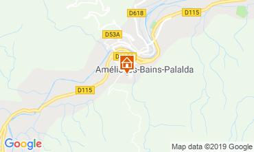 Carte Amélie-Les-Bains Studio 119103