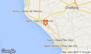 Carte Saint Jean de Monts Mobil-home 18996