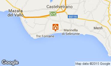 Carte Castelvetrano Selinunte Appartement 72765