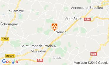 Carte Périgueux Gite 99472