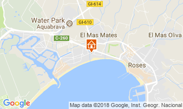 Carte Rosas Appartement 53397
