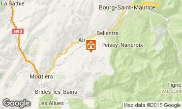 Carte La Plagne Chalet 89733