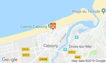 Carte Cabourg Appartement 63247