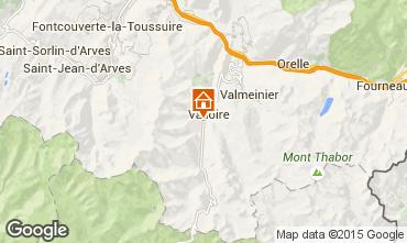 Carte Valloire Appartement 92317