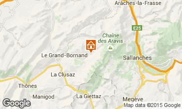 Carte Le Grand Bornand Appartement 101025
