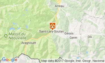 Carte Saint Lary Soulan Appartement 112350