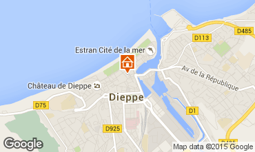Carte Dieppe Appartement 70769