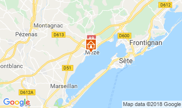 Carte Mèze Appartement 115796