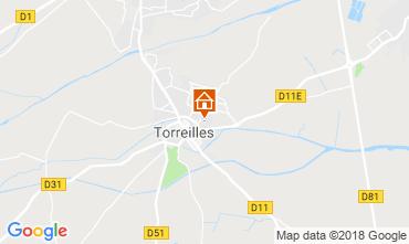 Carte Torreilles Villa 117060