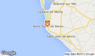 Carte Notre Dame de Monts Maison 18224