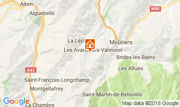 Carte Valmorel Appartement 66547
