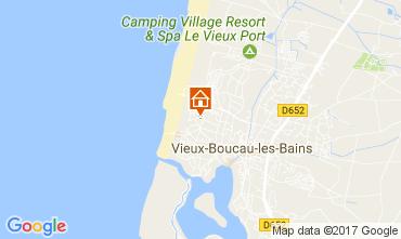 Carte Vieux Boucau Appartement 82408