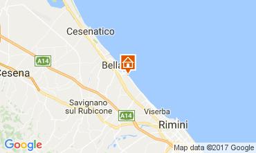Carte Bellaria Igea Marina Appartement 108340