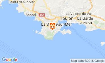 Carte La Seyne sur Mer Maison 113602